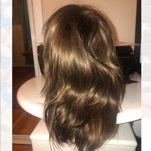 16inch layered human hair